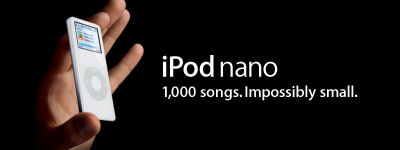 iPod Nano from Apple - 4GB MP3 Player